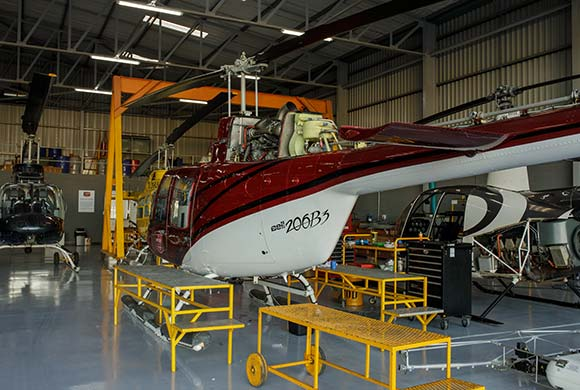 helicopter airframe repairs